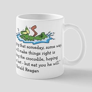 Reagan Crocodile Mug