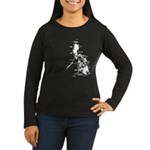 Philippines Rough Map Women's Long Sleeve Dark T-S