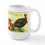 Thanksgiving Cornucopia Large Mug