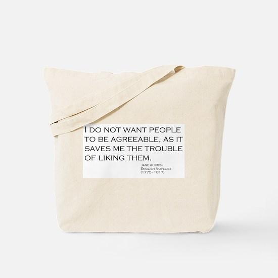 Cute Troubled Tote Bag