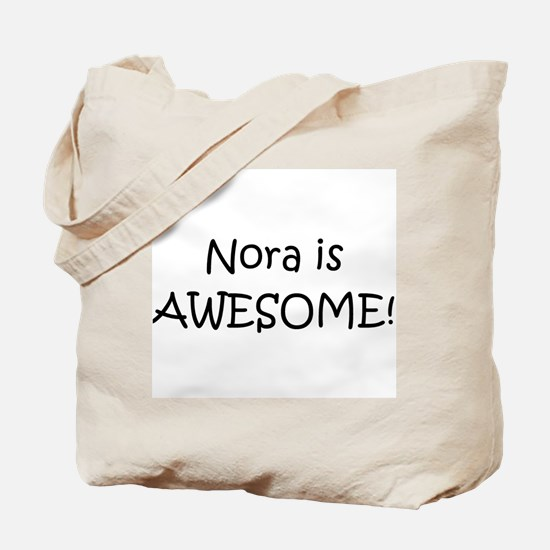 Cute Name nora Tote Bag