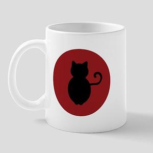 Cat Signal Silhouette Mug