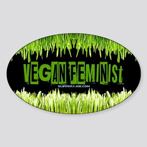 Vegan Feminist Sticker