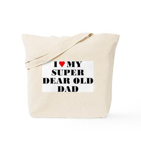 Super Dear Old Dad Tote Bag