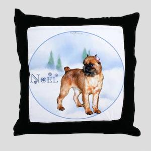 Brussels Noel Throw Pillow