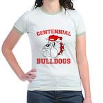 Centennial Bulldogs Jr. Ringer T-Shirt