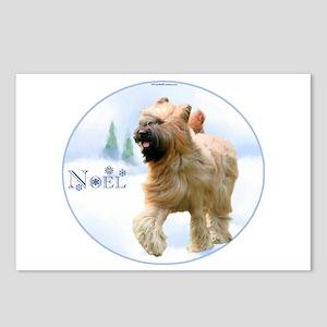 Briard Noel Postcards (Package of 8)
