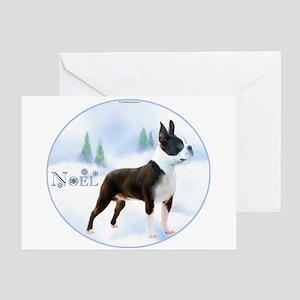 Boston Noel Greeting Card