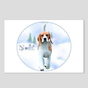 Beagle Noel Postcards (Package of 8)