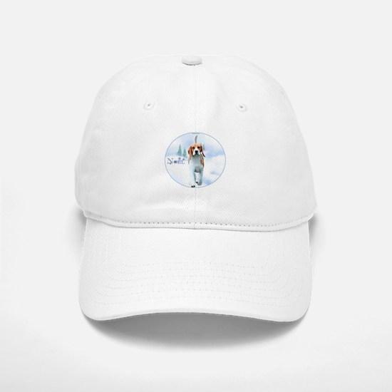 Beagle Noel Baseball Baseball Cap