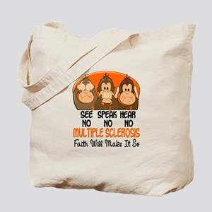 See Speak Hear No MS 1 Tote Bag