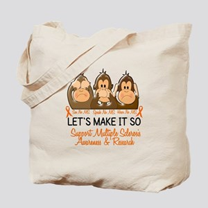 See Speak Hear No MS 2 Tote Bag