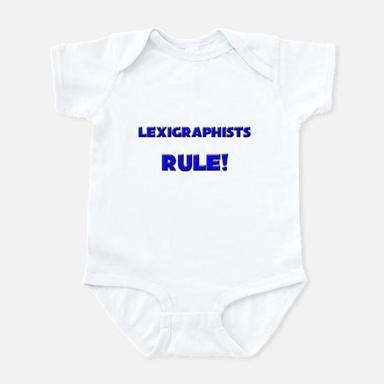 Lexigraphists Rule! Infant Bodysuit
