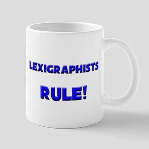 Lexigraphists Rule! Mug