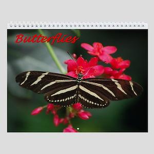 Butterfly 2 Wall Calendar