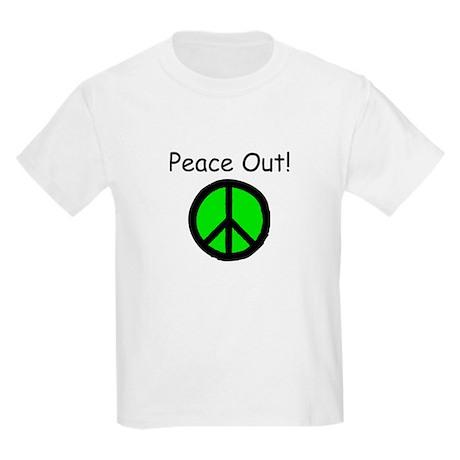 Peace Out Kids T-Shirt