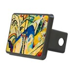 Abstract Triangles After Kandinsky Hitch Cover