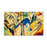 Abstract Triangles After Kandinsky Car Magnet 20 x