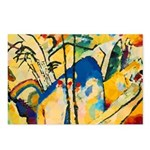 Abstract Triangles After Kandinsky Postcards (Pack