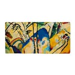 Abstract Triangles After Kandinsky Beach Towel