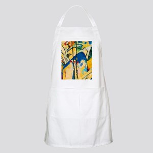 Abstract Triangles After Kandinsky Light Apron
