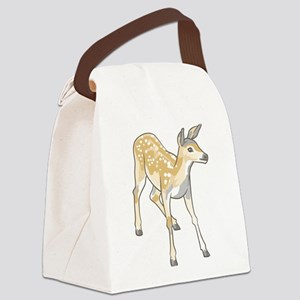 Fawn Deer Canvas Lunch Bag