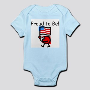 Proud to Be! Infant Creeper