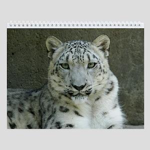 Snow Leopard M002 Wall Calendar