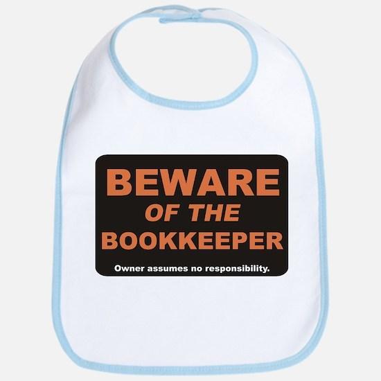 Beware / Bookkeeper Bib
