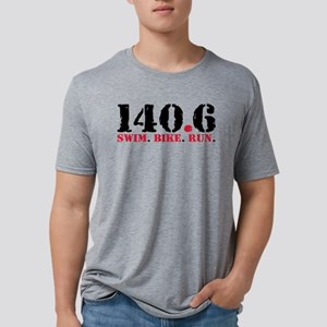 140.6 Swim Bike Run Mens Tri-blend T-Shirt