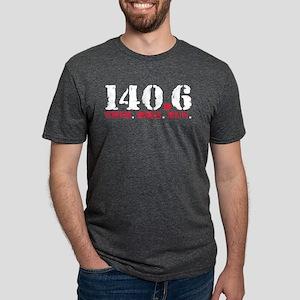 140.6 Swim Bike Run Mens Tri-blend T-Shirt