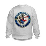 USS COTTEN Kids Sweatshirt