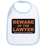 Beware / Lawyer Bib