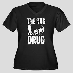 The Tug Is My Drug T Shirt Plus Size T-Shirt