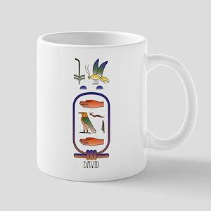David Personalized Hieroglyph Mug
