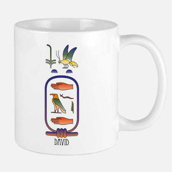 David Personalized Hieroglyph Mug