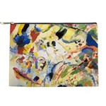 Abstract Triangles After Kandinsky Makeup Bag