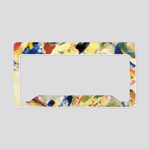 Abstract Triangles After Kandinsky License Plate H