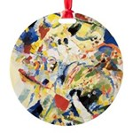 Abstract Triangles After Kandinsky Ornament