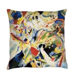 Abstract Triangles After Kandinsky Everyday Pillow