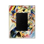 Abstract Triangles After Kandinsky Picture Frame