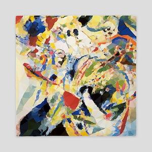 Abstract Triangles After Kandinsky Queen Duvet