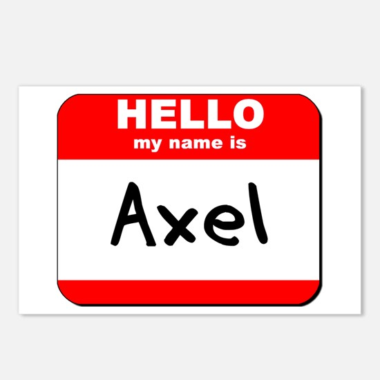 Hello my name is Axel Postcards (Package of 8)