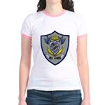 USS COWELL Jr. Ringer T-Shirt