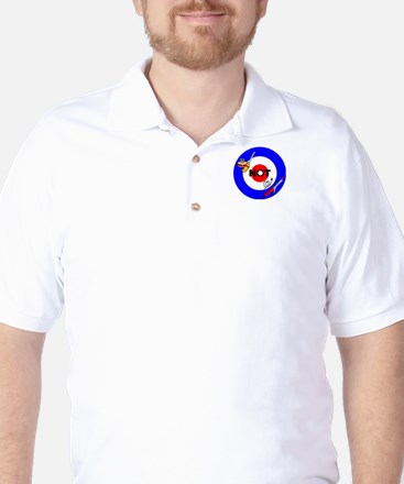 Curling NOT Curling Golf Shirt