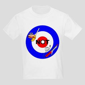 Curling NOT Curling Kids Light T-Shirt