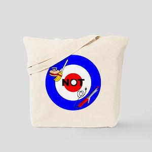 Curling NOT Curling Tote Bag