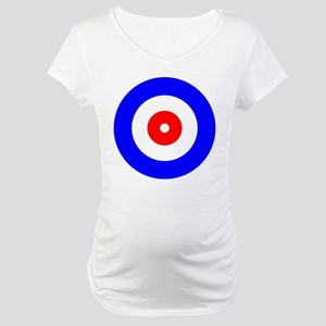 Curling Curlers Curl House Maternity T-Shirt