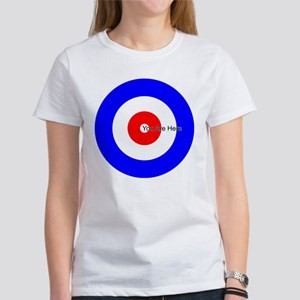 You Are Here Curling House Women's T-Shirt