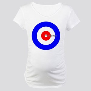 You Are Here Curling House Maternity T-Shirt